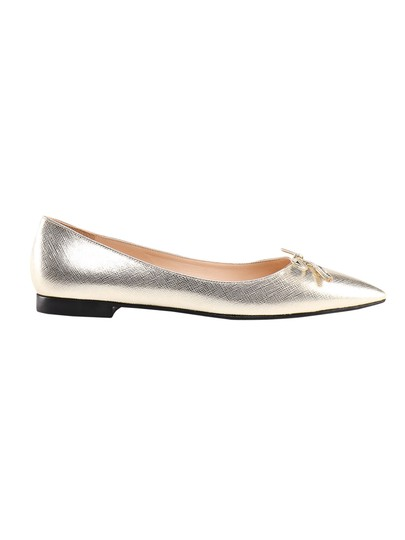 Preload https://img-static.tradesy.com/item/25768115/prada-metallic-ballerina-saffiano-in-calf-leather-flats-size-eu-40-approx-us-10-regular-m-b-0-0-540-540.jpg