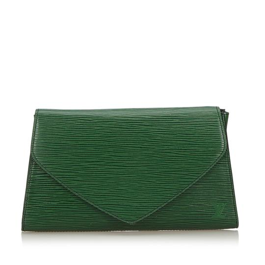 Preload https://img-static.tradesy.com/item/25768159/louis-vuitton-deco-france-dust-small-green-cowhide-leather-clutch-0-0-540-540.jpg