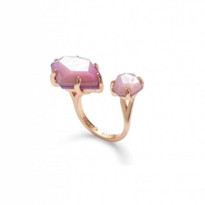 Kendra Scott Kendra Scott Lilac Mother of Pearl Rose Gold Kayla Adjustable Ring