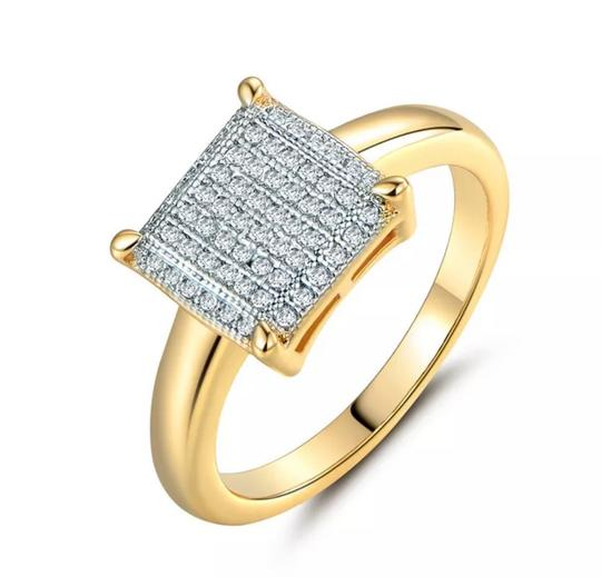 100% Brand New Fashion Women Ring *Metal Color:14k Gold Plated *Material:Copper+AAA Cubic Zirconia *Size Available:7 *Main Stone Size:1mm *Stone Color:White *Weight:2.7grams(approx) *Come with a pretty box 100% Brand New Fashion Women Ring *Metal Color:14k Gold Plated *Material:Copper+AAA Cubic Zirconia *Size Available:7 *Main Stone Size:1mm *Stone Color:White *Weight:2.7grams(approx) *Come with a pretty box Image 4