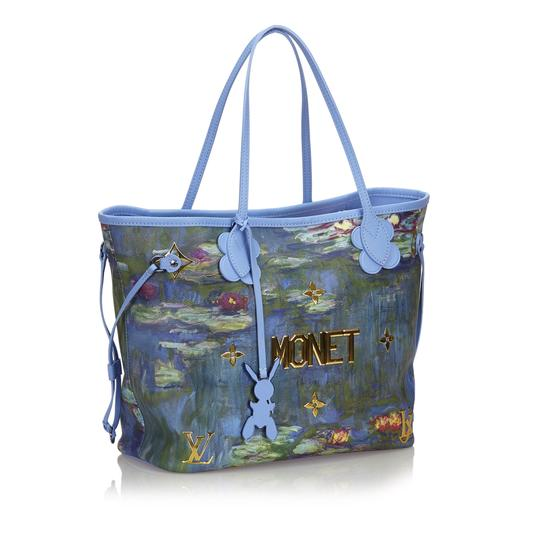 Louis Vuitton 9glvto013 Vintage Tote in Blue Image 1