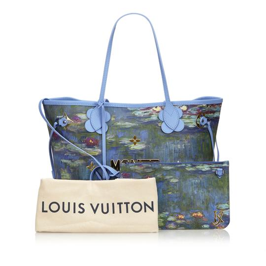 Louis Vuitton 9glvto013 Vintage Tote in Blue Image 10