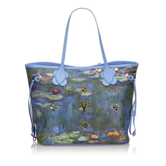 Louis Vuitton 9glvto013 Vintage Tote in Blue Image 2