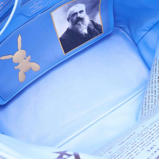 Louis Vuitton 9glvto013 Vintage Tote in Blue Image 4