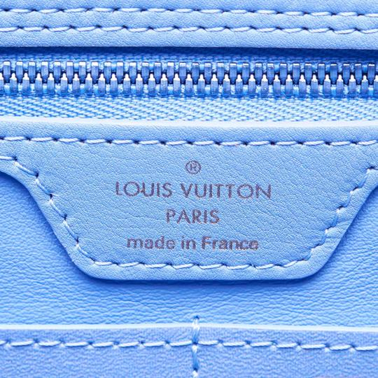 Louis Vuitton 9glvto013 Vintage Tote in Blue Image 5