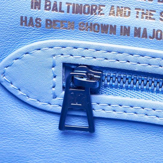 Louis Vuitton 9glvto013 Vintage Tote in Blue Image 7