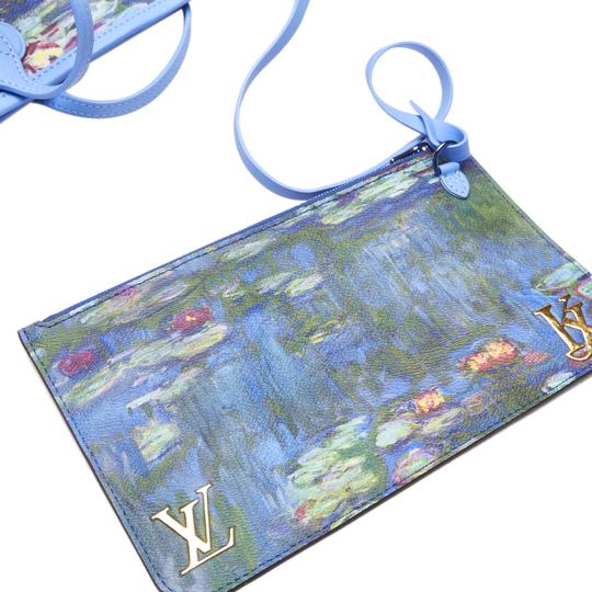 Louis Vuitton 9glvto013 Vintage Tote in Blue Image 8