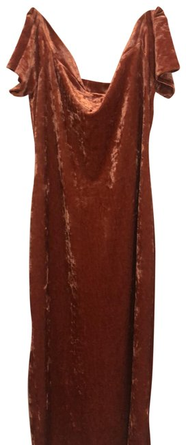 Preload https://img-static.tradesy.com/item/25768204/urban-outfitters-pinkrose-velvet-off-the-shoulder-mid-length-casual-maxi-dress-size-8-m-0-1-650-650.jpg