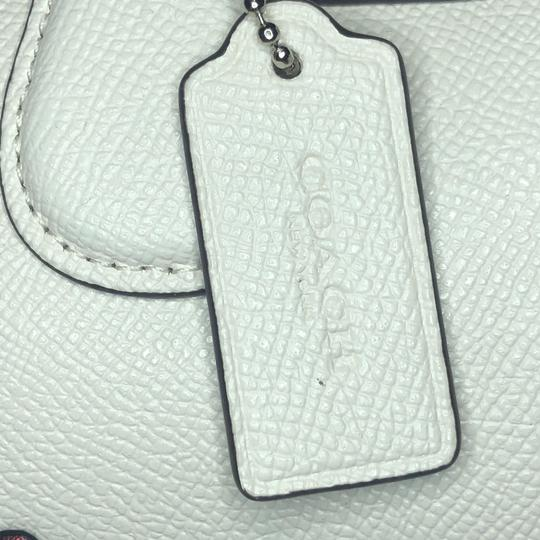 Coach Leather Pacman White Satchel in Chalk Image 2