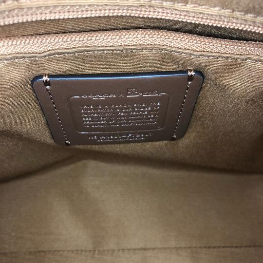 Coach Leather Pacman White Satchel in Chalk Image 6