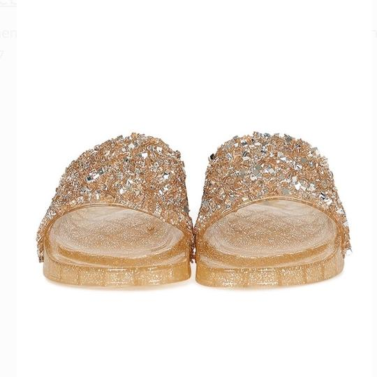 Weeboo Gold Sandals Image 3