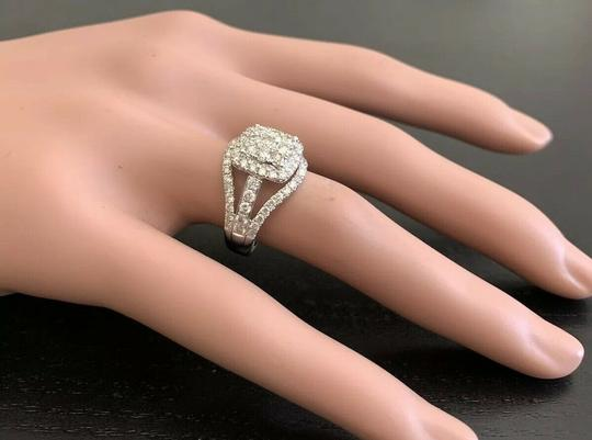Other 1.50Ct Natural Diamond 14K Solid White Gold Ring Image 7