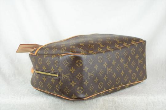 Louis Vuitton Deauville Monogram Tote in Brown Image 3