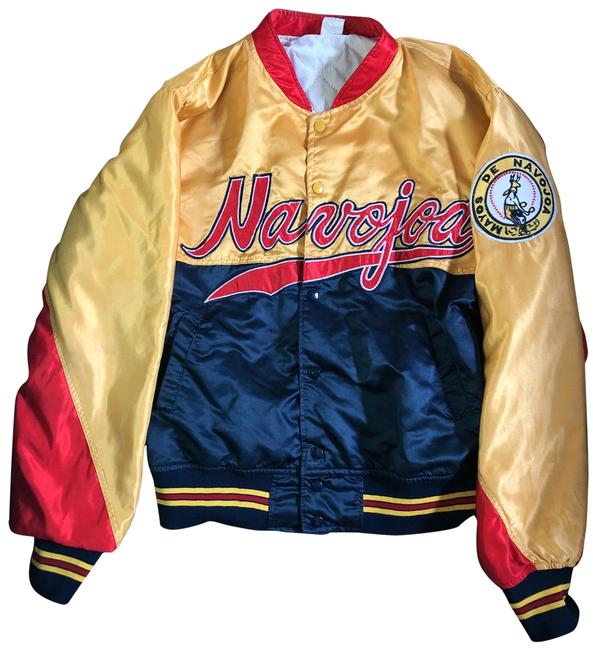 Preload https://img-static.tradesy.com/item/25768369/red-yellow-and-navy-blue-vintage-mexican-jacket-size-14-l-0-1-650-650.jpg