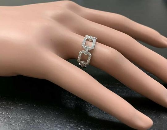 Other 0.50Ct Natural Diamond 14K Solid White Gold Ring Image 3