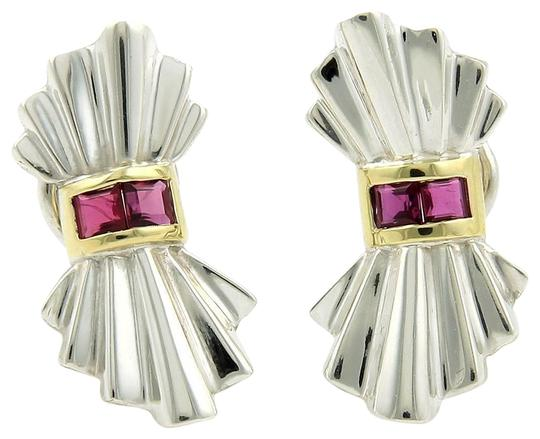 Preload https://img-static.tradesy.com/item/25768434/tiffany-and-co-61061-vintage-rubies-925-silver-18k-yellow-gold-bow-clip-earrings-0-1-540-540.jpg