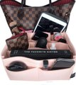 Louis Vuitton Organizer Insert For Neverfull And Speedy Bags Red MM Louis Vuitton Neverfull MM Speedy 35 Pink Rose Organizer for Interior Image 2
