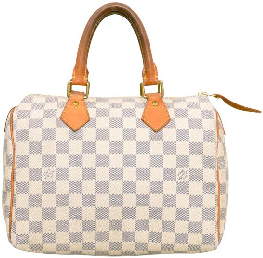Preload https://img-static.tradesy.com/item/25768465/louis-vuitton-speedy-damier-azur-25-boston-style-n41534-white-leather-and-coated-canvas-satchel-0-2-540-540.jpg
