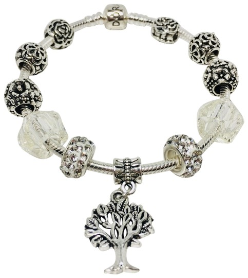 Preload https://img-static.tradesy.com/item/25768480/pandora-silver-tree-of-life-charm-with-european-charm-bracelet-0-1-540-540.jpg