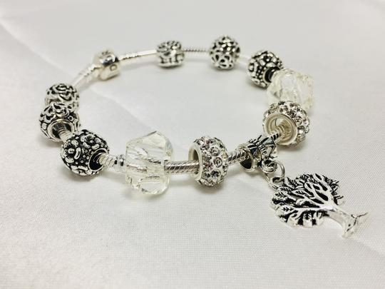 PANDORA Tree of Life Charm * Pandora Bracelet With European Charm Image 2