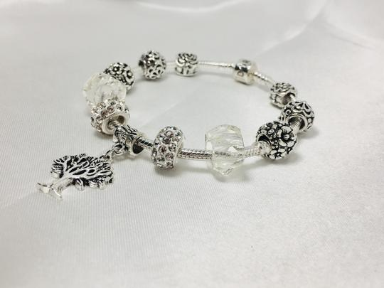 PANDORA Tree of Life Charm * Pandora Bracelet With European Charm Image 3