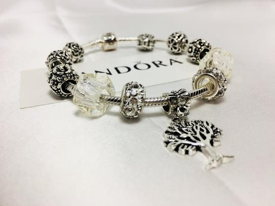 PANDORA Tree of Life Charm * Pandora Bracelet With European Charm Image 5