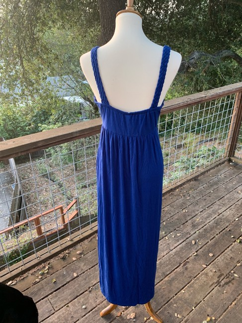 Blue Maxi Dress by Design History Image 4