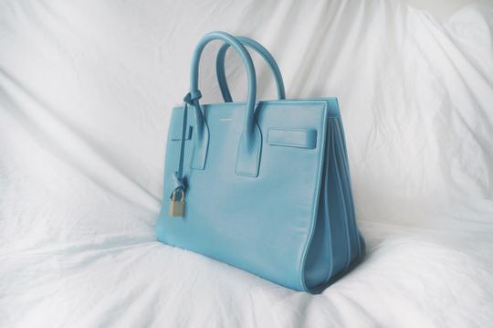 Saint Laurent Tote in baby blue Image 1