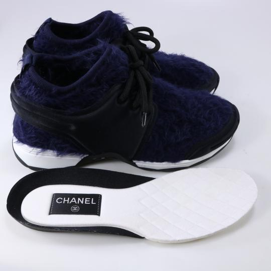 Chanel Sneakers Logo Cc Logo Trainers blue Athletic Image 7