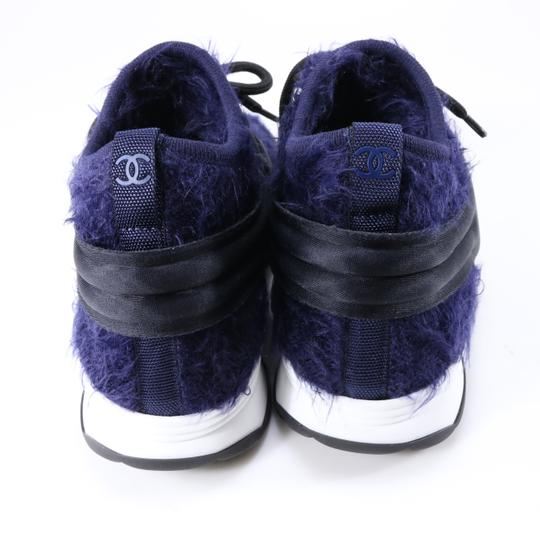 Chanel Sneakers Logo Cc Logo Trainers blue Athletic Image 9