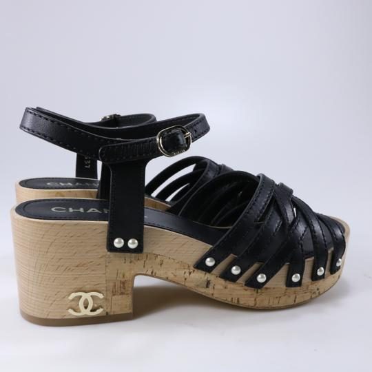 Chanel Pearl black Sandals Image 3