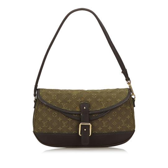 Preload https://img-static.tradesy.com/item/25768567/louis-vuitton-marjorie-fabric-mini-lin-france-mini-green-cotton-leather-baguette-0-0-540-540.jpg
