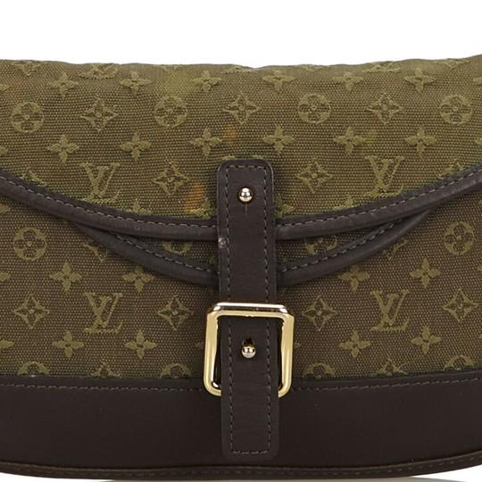 Louis Vuitton 9glvbg017 Vintage Cotton Leather Baguette Image 11