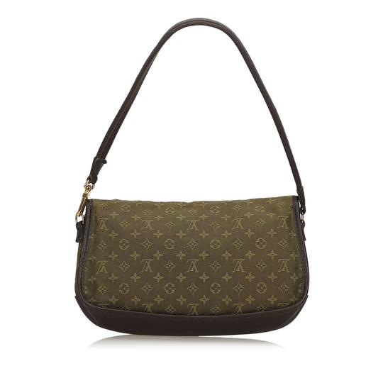 Louis Vuitton 9glvbg017 Vintage Cotton Leather Baguette Image 2