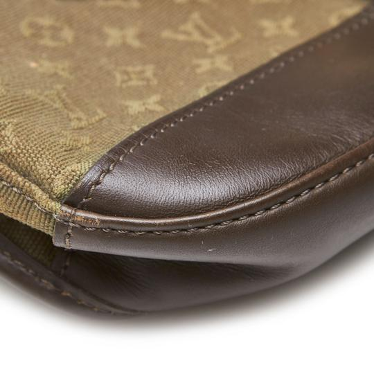 Louis Vuitton 9glvbg017 Vintage Cotton Leather Baguette Image 7