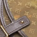 Louis Vuitton 9glvbg017 Vintage Cotton Leather Baguette Image 8