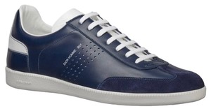 Dior Mens Sneakers Leather Suede blue Athletic