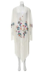 Maxi Dress by Anjuna Fringe Kimono Kimono Fringe Summer Embroidered