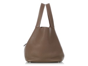 Hermès Hr.q0625.01 Taupe Palladium Reduced Price Tote in Brown