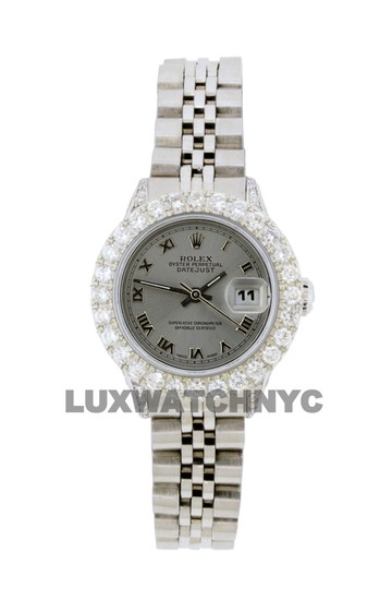 Preload https://img-static.tradesy.com/item/25770763/rolex-gray-dial-28ct-ladies-26mm-datejust-stainless-with-appraisal-watch-0-0-540-540.jpg