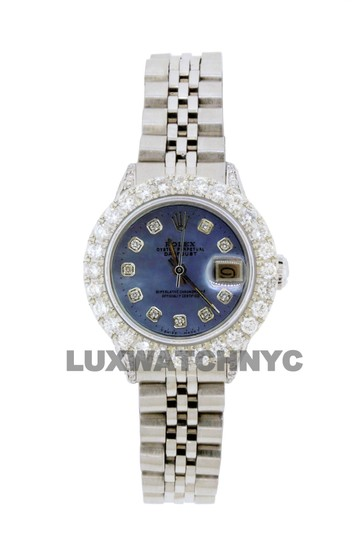 Preload https://img-static.tradesy.com/item/25771037/rolex-blue-mop-dial-28ct-ladies-26mm-datejust-stainless-with-appraisal-watch-0-0-540-540.jpg