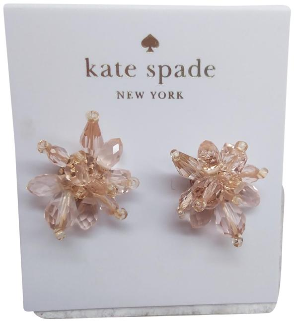 Kate Spade Pale Pink Candy New Rock Flower Earrings Kate Spade Pale Pink Candy New Rock Flower Earrings Image 1