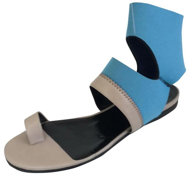 Pierre Hardy Blue and Gray Neoprene Flats Size EU 37 (Approx. US 7) Regular (M, B) Pierre Hardy Blue and Gray Neoprene Flats Size EU 37 (Approx. US 7) Regular (M, B) Image 1