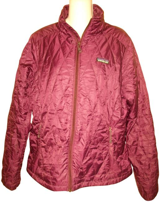 Item - Purple Quilted Zip Front Jacket Size 12 (L)