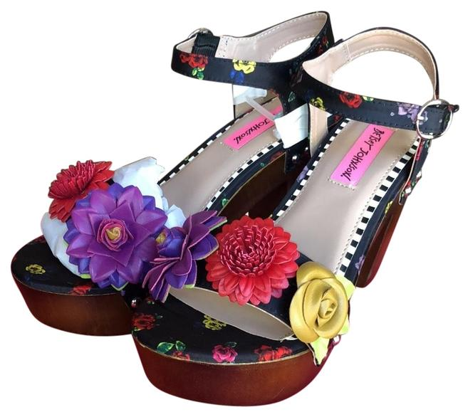 Item - Black Rose02s5 Platforms Size US 7 Regular (M, B)