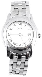 Gucci 5500L Stainless Steel Date Watch