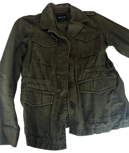 Item - Olive Green Army Jacket Size 4 (S)