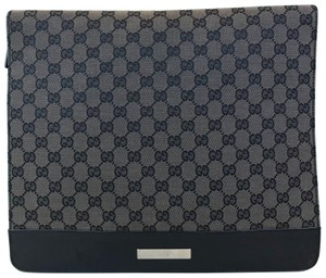 Gucci Canvas Sleeve Document Case Laptop Bag