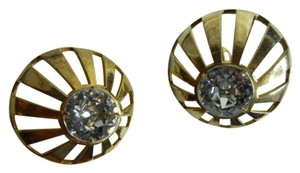 Castlecliff Vintage Castlecliff rhinestone clip earrings
