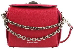 Alexander McQueen Leather Box 16 Chain Cross Body Bag